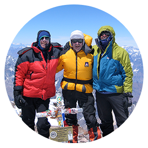 Aconcagua Ameghino & Upper Guanacos Route with Porters