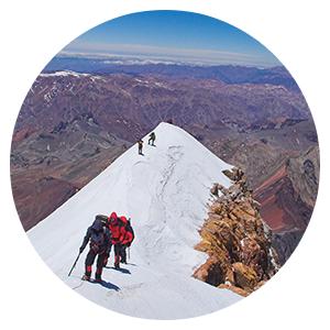 Aconcagua Polish Glacier Route with Porters